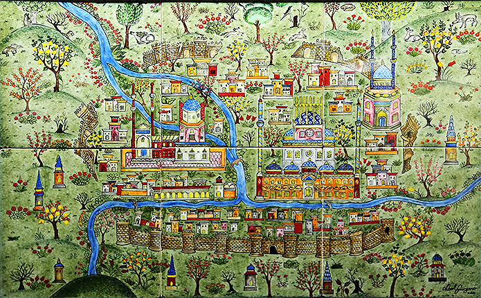 Mega Cities On The Silk Road