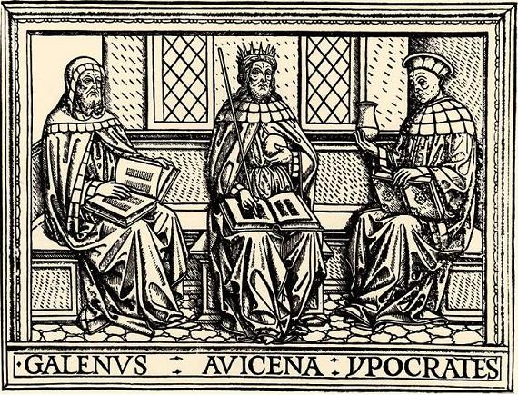 Galen, Ibn Sina, and Hippocrates