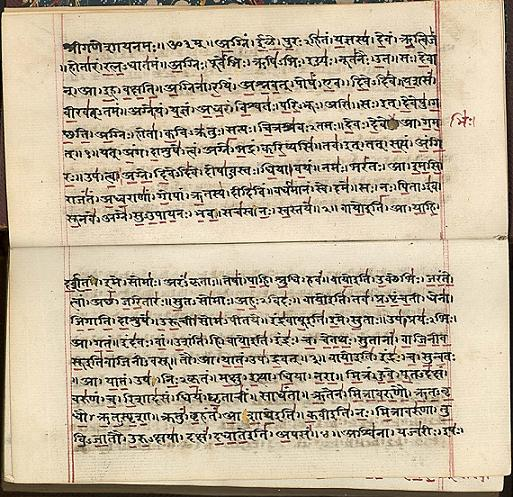 Apa Format Sample Essay Paper Figure   Pages From Rigveda Manuscript Of Mathematics In Sanskrit On  Paper India Early Th Century  Vols  Folios How To Stay Healthy Essay also Essays Term Papers Kerala Mathematics And Its Possible Transmission To Europe  Muslim  Pmr English Essay