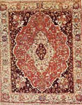 Figure 4 Beautiful Mihrab Persian Prayer Rug From Azerbaijan Late 19th Century