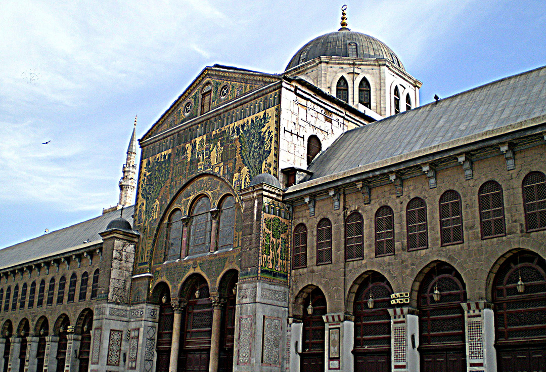 Image result for great mosque of damascus