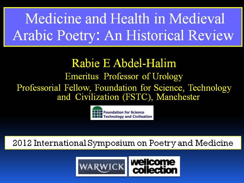 Prof Rabie E Abdel-Halim