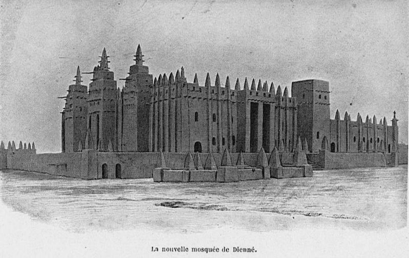 West African Mosque Architecture - A Brief Introduction
