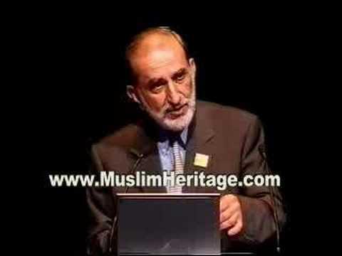 Professor Salim Al-Hassani Delivering A Keynote Speech
