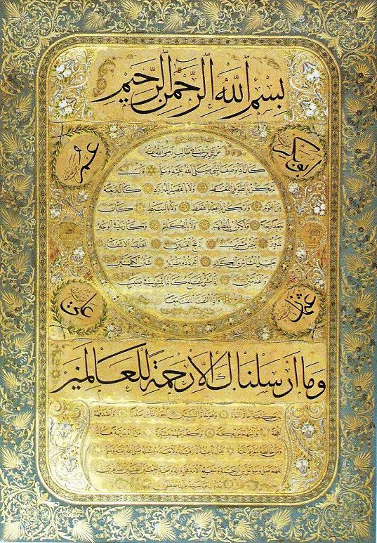 The Art of Calligraphy in the Ottoman Empire