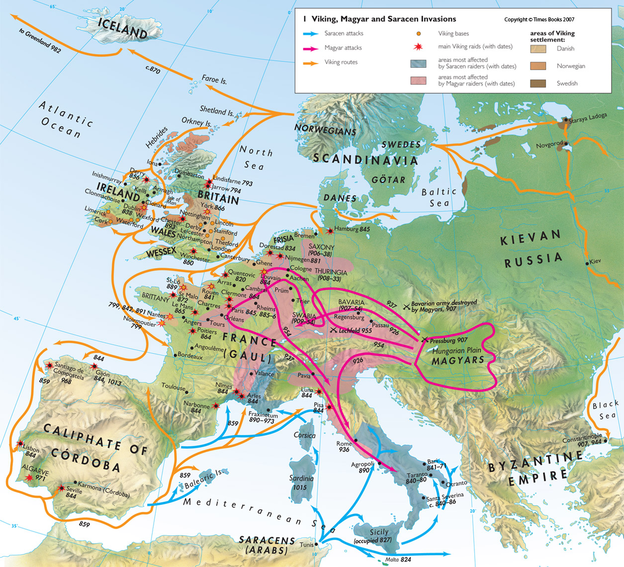 A Tale of Two Civilisations: The Viking and the Muslim Civilisation