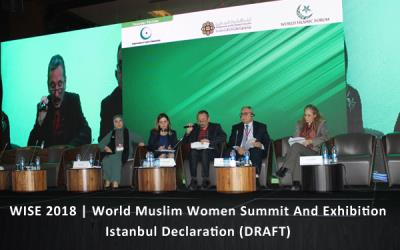 World Muslim Women's Summit & Exhibition WISE 2018 Istanbul