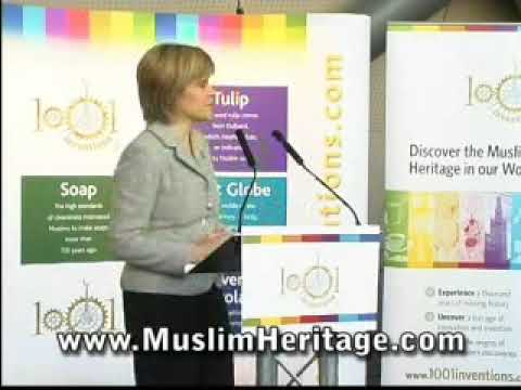 Nicola Sturgeon MSP launches 1001 Inventions exhibition