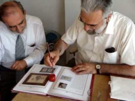 Calligrapher Hasan Celebi